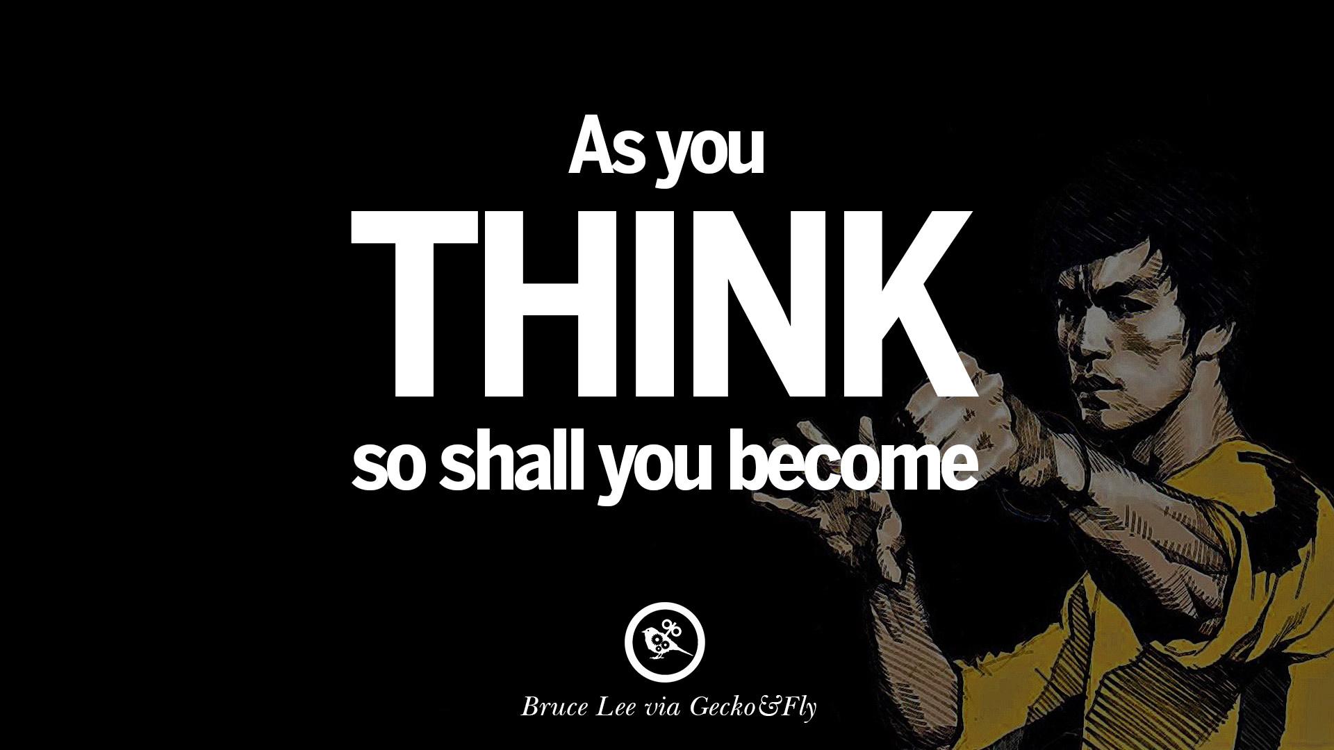 Zendha Bruce Lee Wallpaper Quotes