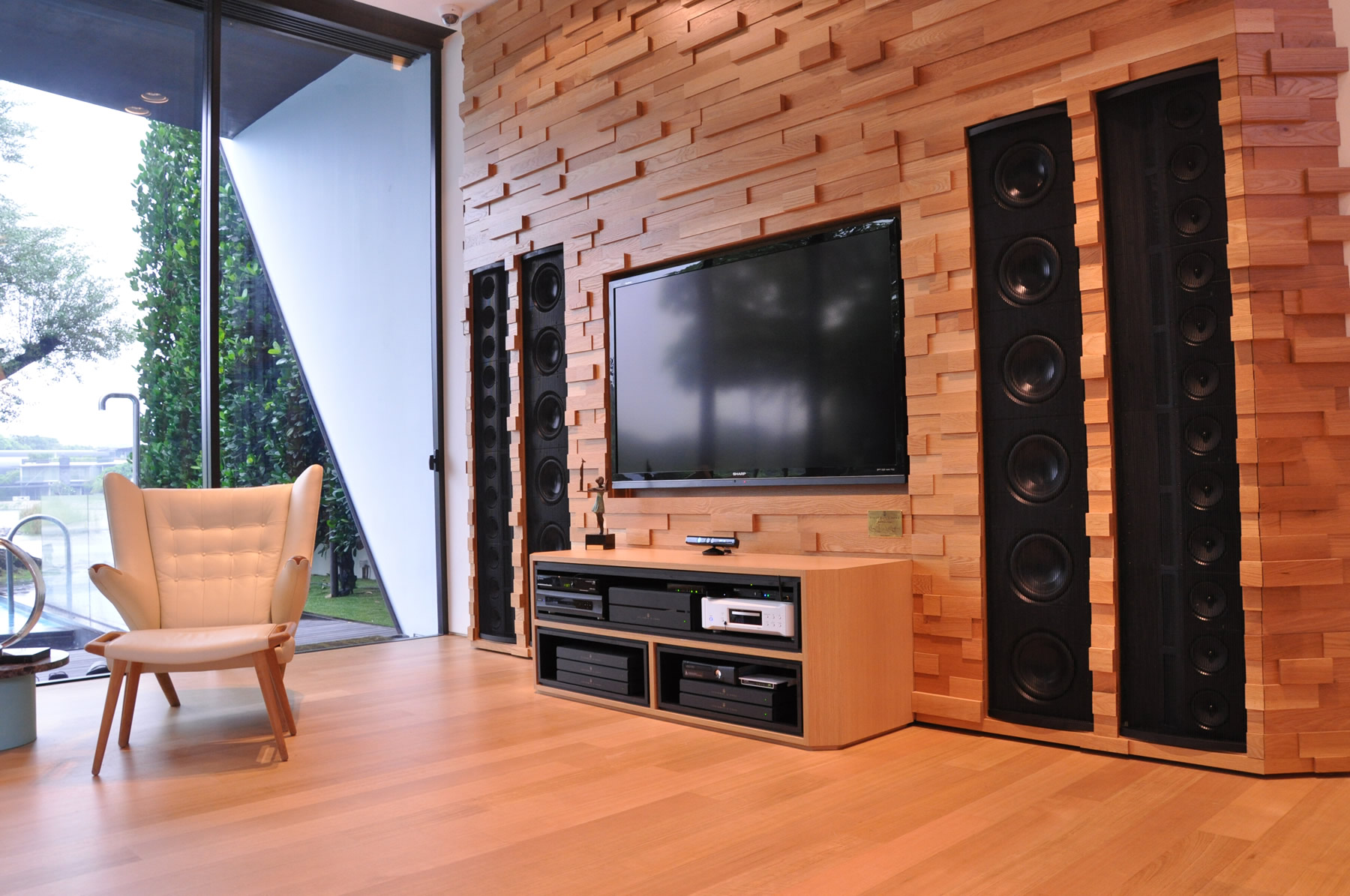 Ultimate Inwall audio system  Gecko Home Cinema