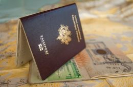 Passport for Visa stamp