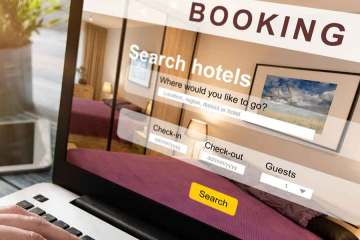 Travel website booking