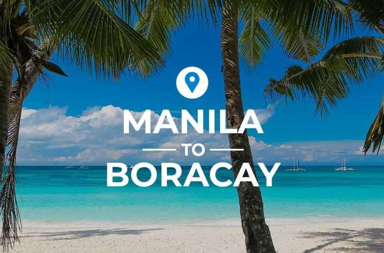 Manila to Boracay cover image
