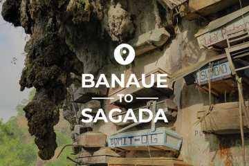 Banaue to Sagada cover images