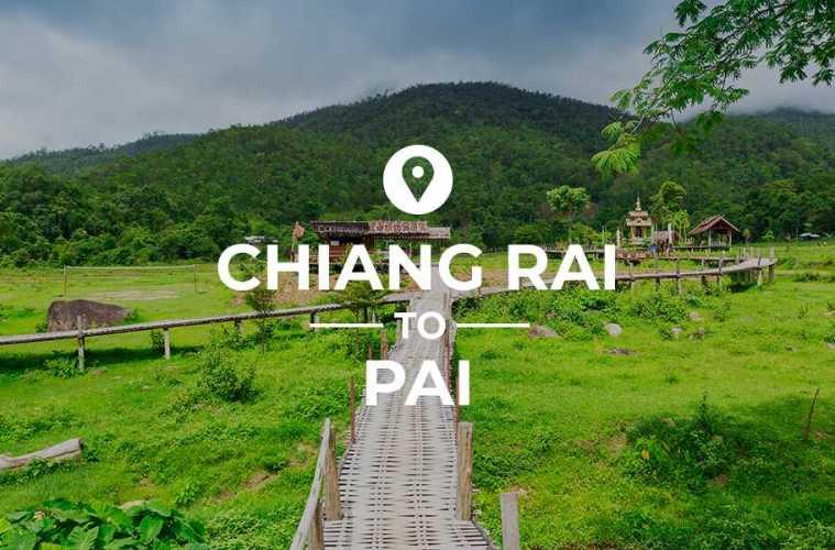 Chiang Rai to Pai cover image