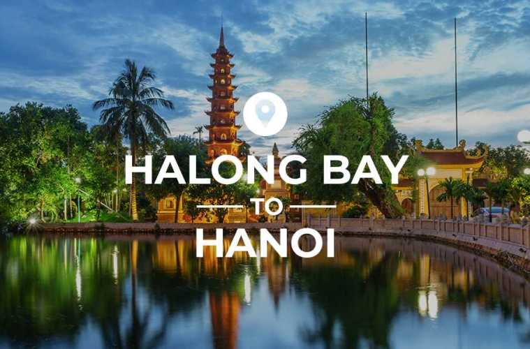 Halong Bay to Hanoi cover image