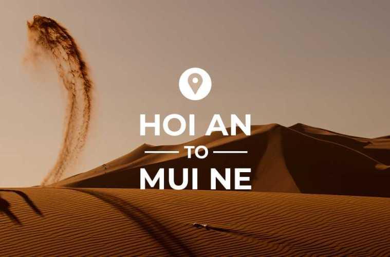 Hoi An to Mui Ne cover image