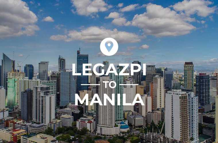 Legazpi to Manila cover image