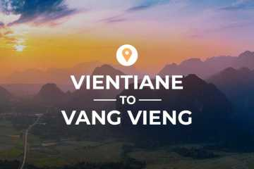 Vientiane to Vang Vieng cover image