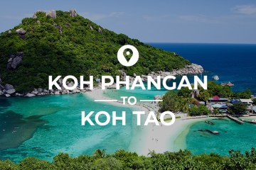 Koh Phangan to Koh Tao cover image