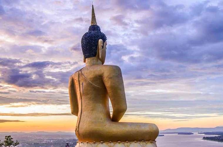 Pakse Golden Budha
