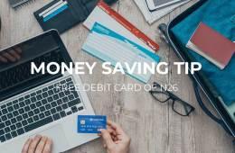 Free N26 debit card cover image
