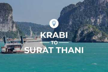 Krabi to Surat Thani cover image