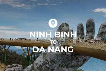 Ninh Binh to Da Nang bus and train route
