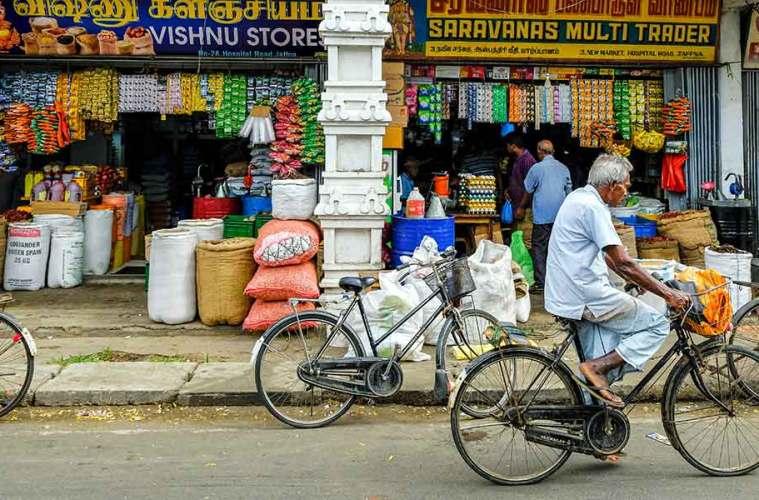 Jaffna traditional street