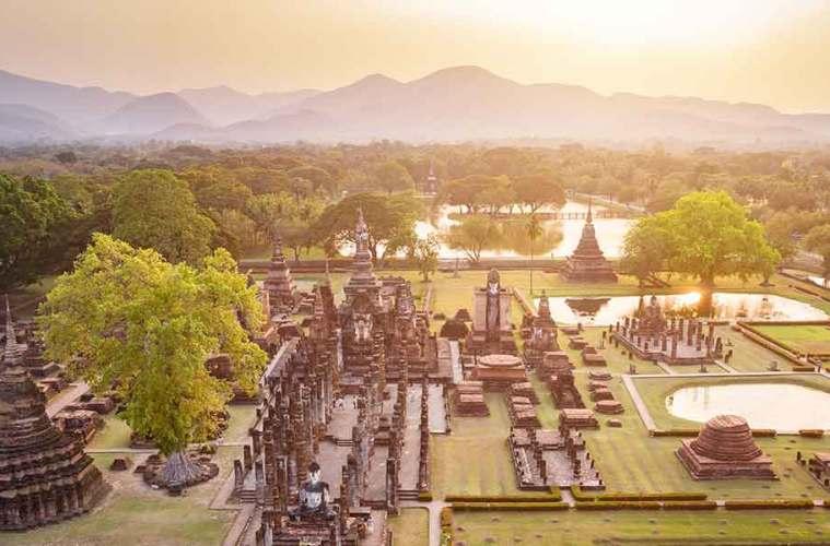 Old City Sukhothai Thailand