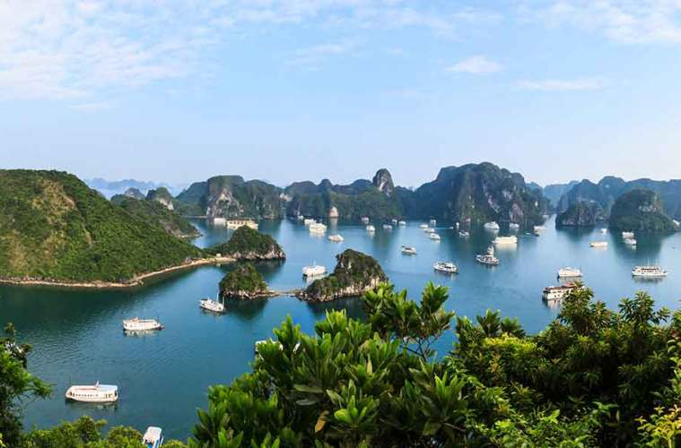 View on Halong Bay