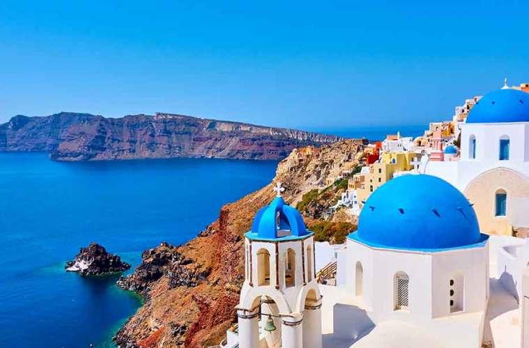 Santorini---Greece