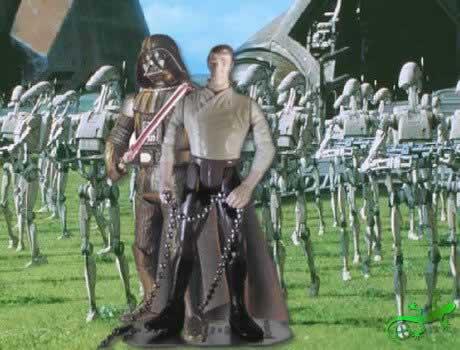 Han Solo in Gefangenschaft