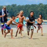 Gecko kids beach rugby