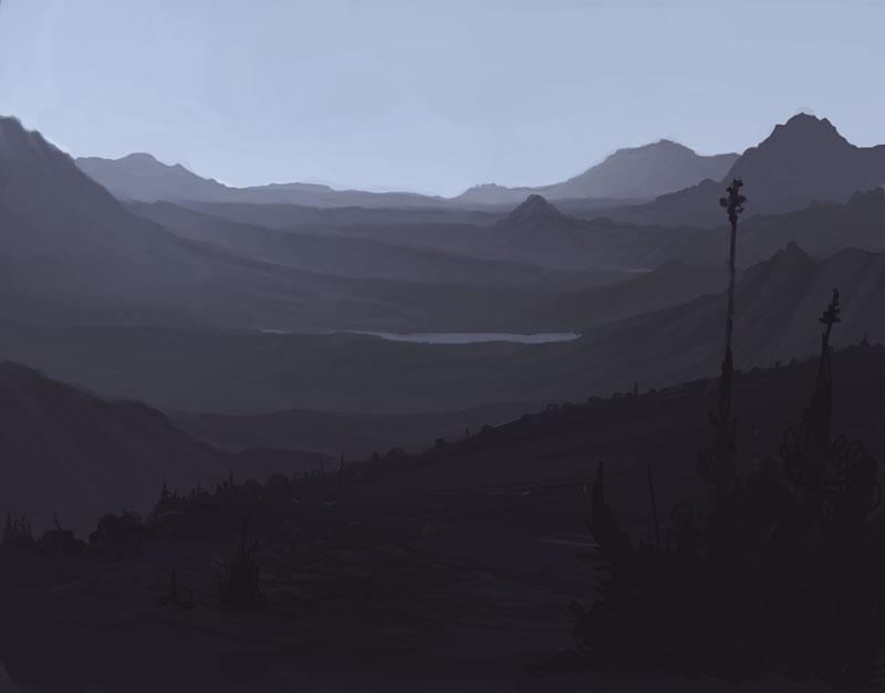 Geckzillacom  Art  Dull Landscape