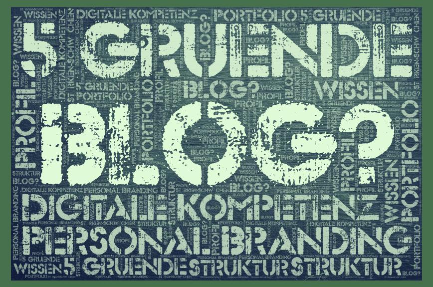 5 Gründe als Wissensmanager*in zu bloggen