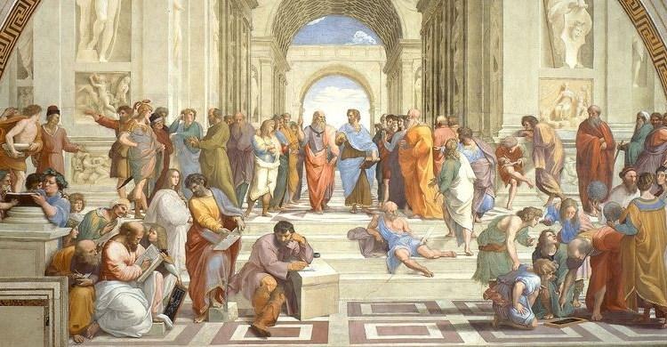 Raffael: Schule von Athen