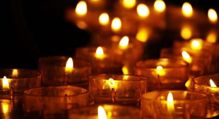 teelicht; Trauer; Mahnwache; Christchurch; Kerze; Licht