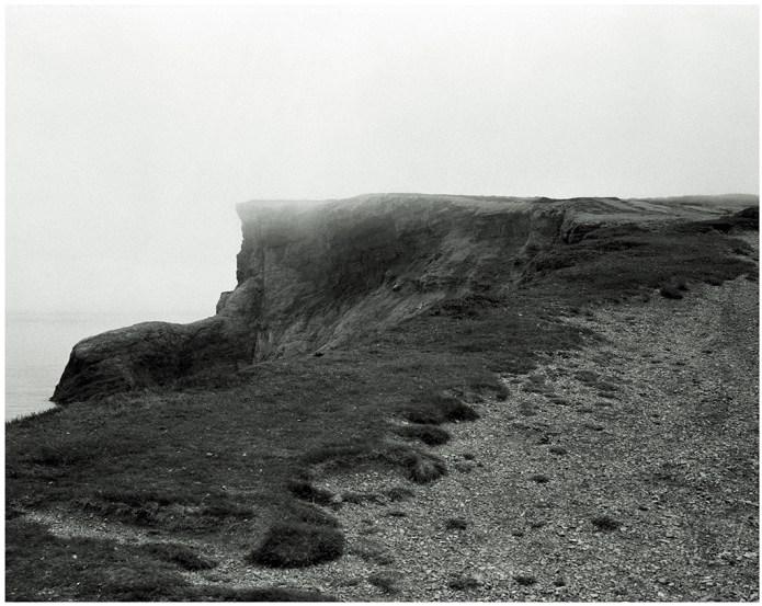 Cliff, Fog - Cap St. George NL (103.8 cm x 93.8 cm)