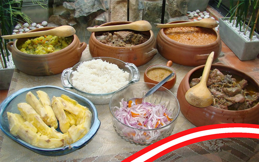 Influencias histricas de la gastronoma peruana