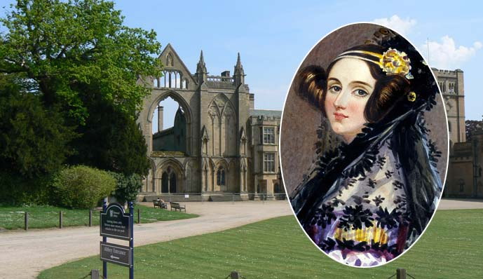 BROADCAST: Radio enthusiasts will gather at Newstead Abbey from Thursday to celebrate the 200th anniversary of the birth of Ada Lovelace (pictured, inset)