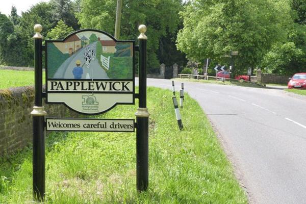 Papplewick_sign