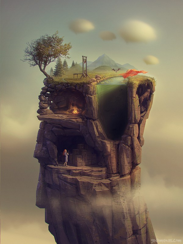 Digital Surreal Illustrations