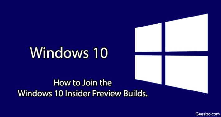 Windows 10 Insider Preview Builds