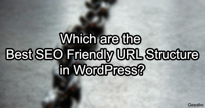 SEO Friendly URL Structure