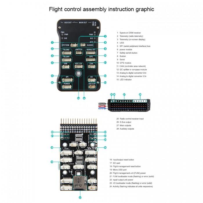 Wiring Diagram For Home Network Xzn Pixhawk 4 Layer Board 800 001 0357 108 00