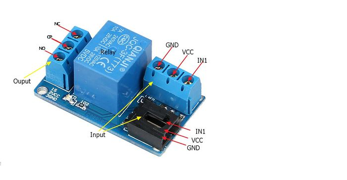 Spdt Wiring Diagram 240v One Channel Relay Module Geeetech Wiki