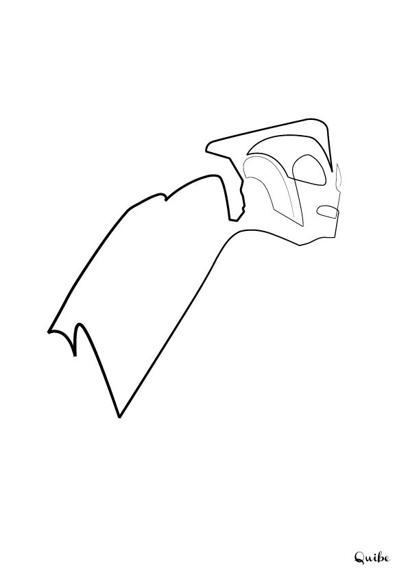 One Line Drawing Quibe : Quibe one line drawings geek art design