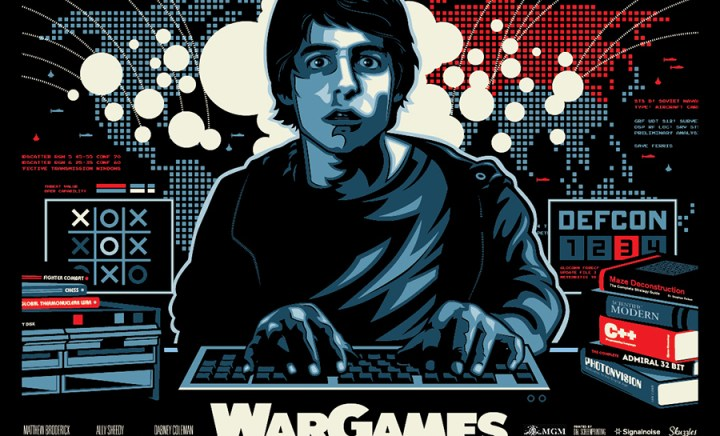James White aka Signal Noise – War Games Poster