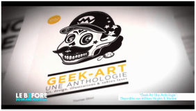 Geek-Art on Canal Plus (French TV channel) ! (December 2013)