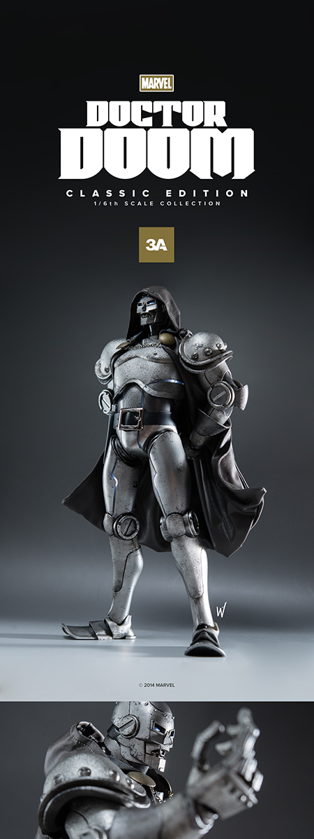 3A Toys - Doctor Doom - Geek