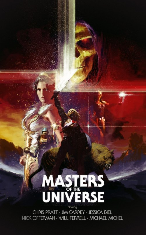 Gerald Parel - Masters of the Universe Movie Poster