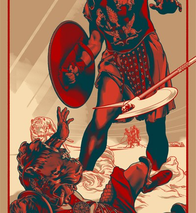 Martin Ansin – Gladiator for Mondo