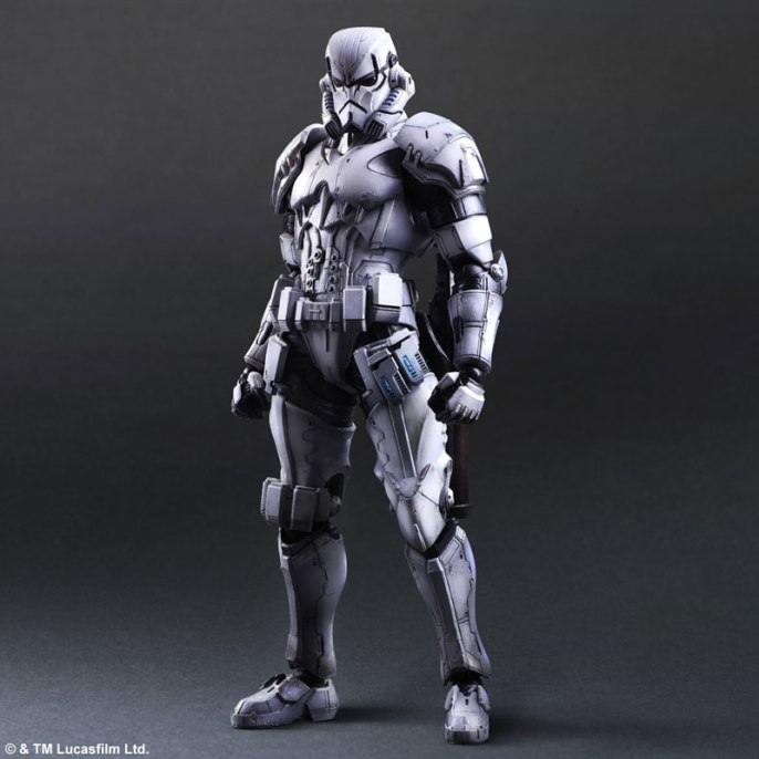 Square Enix Star Wars Play Arts Variant Figures - Stormtrooper-001