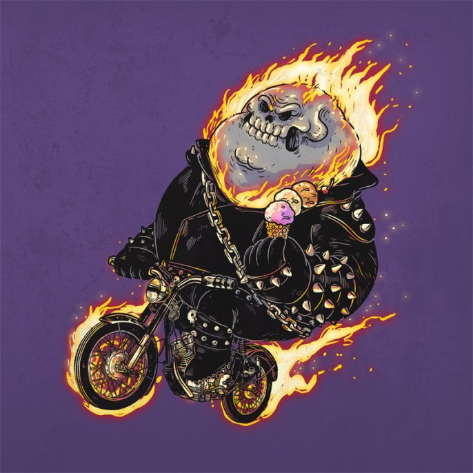 Alex Solis - The Famous Chunkies Ghost Rider