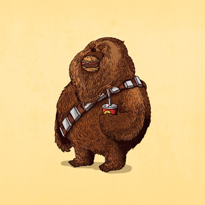 Alex Solis - The Famous Chunkies Wookie