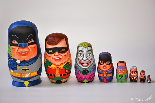 Andy Stattmiller - Nesting Dolls Batman