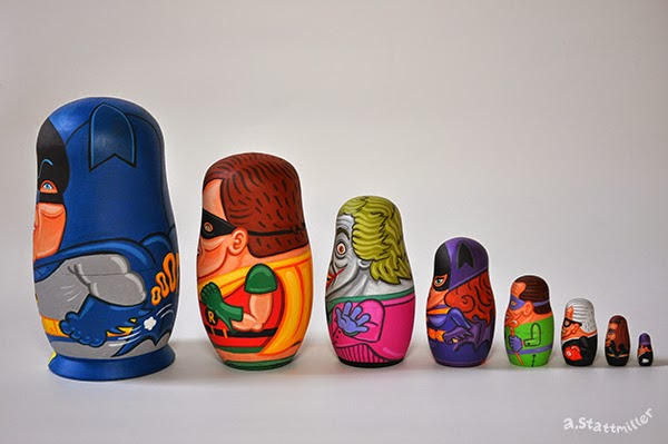 Andy Stattmiller - Nesting Dolls Batman4
