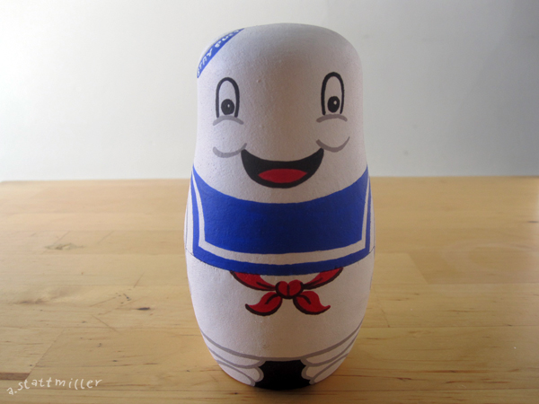 Andy Stattmiller - Nesting Dolls Ghosbusters2