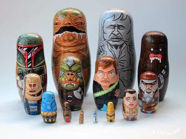 Andy Stattmiller - Nesting Dolls Star Wars