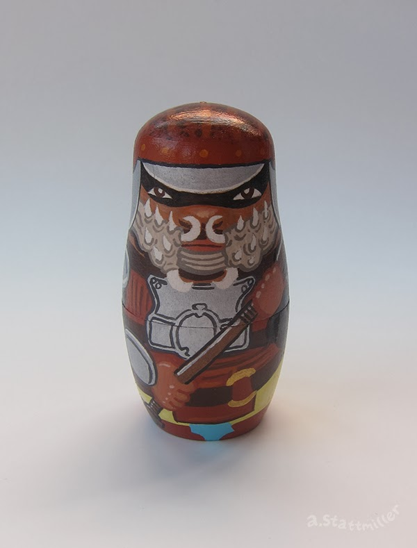 Andy Stattmiller - Nesting Dolls Star Wars4