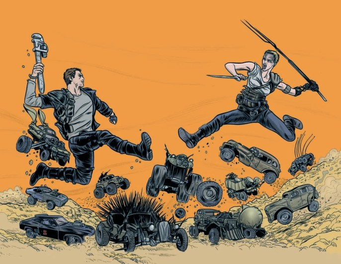 Mike Allred - Mad Max- Fury Road